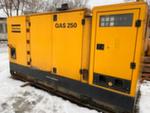 Дизельный генератор Atlas Copco QAS 250  бу