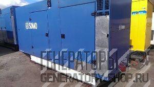 Дизельный генератор 250 кВт SDMO V350
