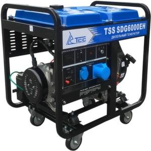 Дизельный генератор TSS SDG 6000EH 6 кВт