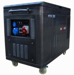 NEW! Бензиновый генератор MITSUI Power ECO ZM 12500 SE